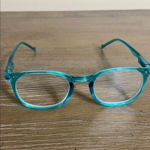 Aqua Clear Blue Readers 2.75